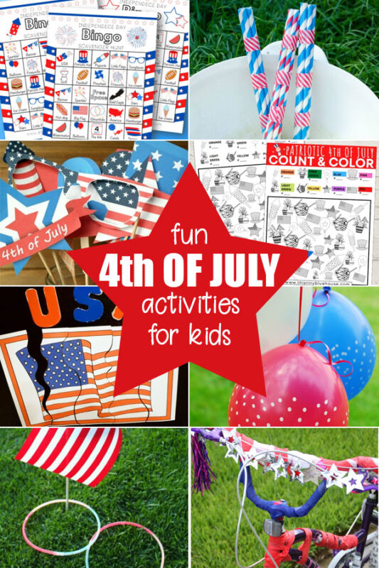 More Fun Fourth of July Ideas and Activities