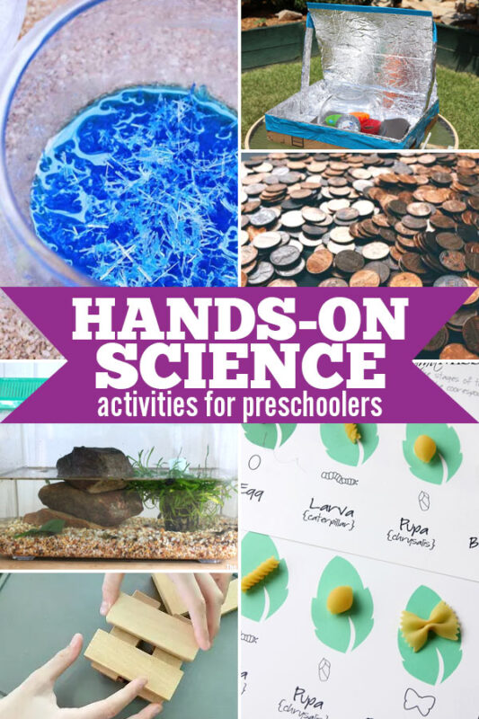 Hands on Learning Science Activities for Preschoolers.