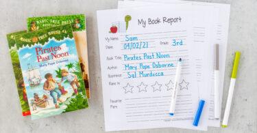 2nd Grade Book Report