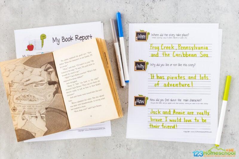 3rd Grade Book Report