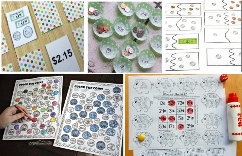Coin Games for Kids