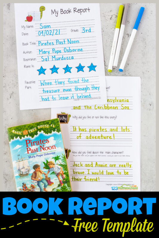 Make sure kids are understanding what they read with this free book report template. This1st grade book report is a handy, NO PREP way to ensure early readers are understanding what they are reading. Thebook report template 3rd grade has a spot for first grade, second grade, third grade, and fourth grade students to write down book title, author, rate the book, tell their favorite part, give a summary of the book, and more. This is such a handy, free printable,book report template 2nd grade. Simply grab the free book reportsand you are ready to go!