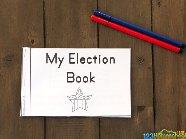Kids Pick the President resource for learning how we vote for the president of the United States of America