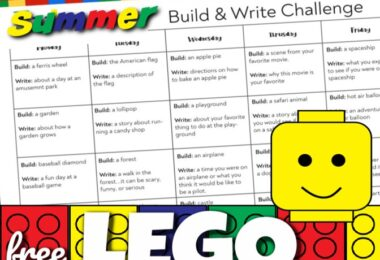 Lego Writing Prompts