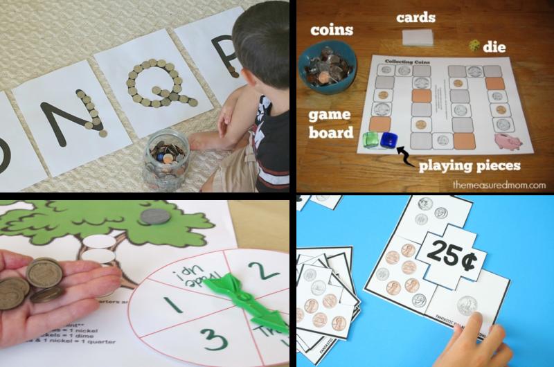 Money Games for Kindergarten