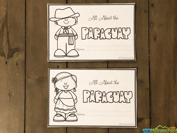 Paraguay History for Kids Printable Book