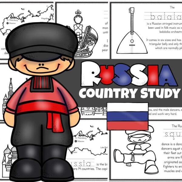 Russia Printable Books