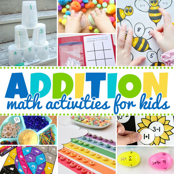 Addition Activities for Kids