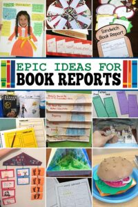 Book reports are a great way for kids to recall what they've read, help with reading comprehension, and improve writing too. But not all kids enjoy filling out book report forms. Here are 26 creative, fun, and unique book report ideas. So if you are looking to make book reports more fun, you will love these clevercreative book report ideas for kindergarten, first grade, 2nd grade, 3rd grade, 4th grade, 5th grade, and 6th grade students. Whichbook report projectswill you try first?
