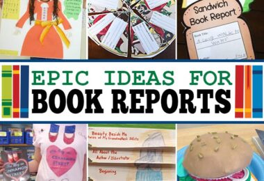? No more boring book reports! Check out 26+ FUN, creative and unique Book Report Ideas! These book report projects help improve reading comprehension!