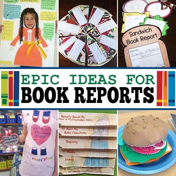 26 EPIC Book Report Ideas