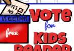 It is important to teach children about how we elect the president of the United States of America. This simple, no prep Voting for Kids reader will help pre k, kindergarten, first grade, 2nd grade, 3rd grade, 4th grade, 5th grade, and 6th grade students. This printable election book is perfect for preparing children for November elections!