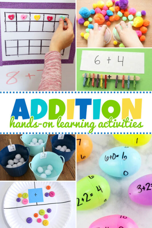 Hands-on Addition Learning Activities