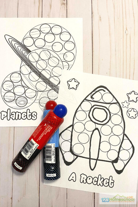simply print the pages in this marker dot worksheets and use the with bingo markers or dot art markers