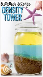 ocean density tower summer experiment