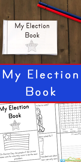 It is important to each children about how we elect the president of the United States of America. This simple, no prep Voting for Kids reader will help pre k, kindergarten, first grade, 2nd grade, 3rd grade, 4th grade, 5th grade, and 6th grade students. This printable election book is perfect for preparing children for November elections!