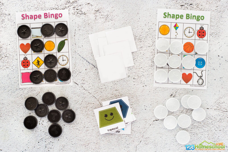 Bingo Shapes