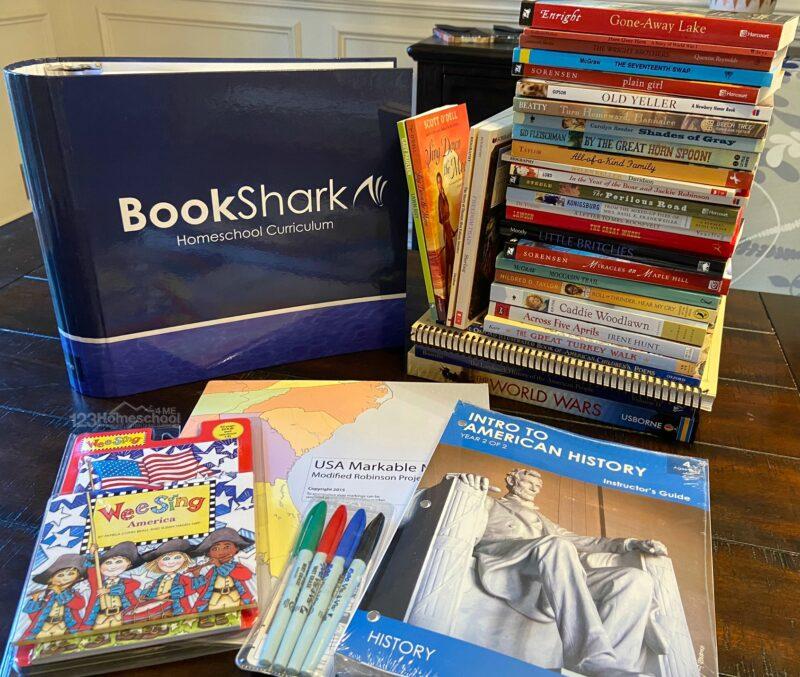 Bookshark Homeschool Curriculum Package for pre k, kindergarteners, grade 1, grade 2, grade 3, grade 4, grade 5, grade 6, grade 7, grade 8, grade 9, grade 10, grade 11, grade 12