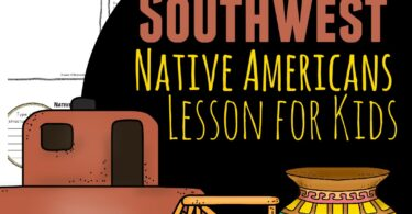 Kids will have fun learning about the indigenous people of North American with this fun, hands on, history for kids lesson. We've included recipes, crafts, free printables and more so you can study Southwest Native Americans for Kids from preschool, pre k, kindergarten, first grade, 2nd grade, 3rd grade, 4th grade, 5th grade, and 6th grade students.