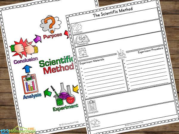 The Scientific Method Worksheets