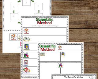 Teach kids to think like a scientist with these fun and free printable The Scientific Method Worksheets for kindergarten, first grade, 2nd grade, 3rd grade, 4th grade, 5th grade, and 6th grade students.