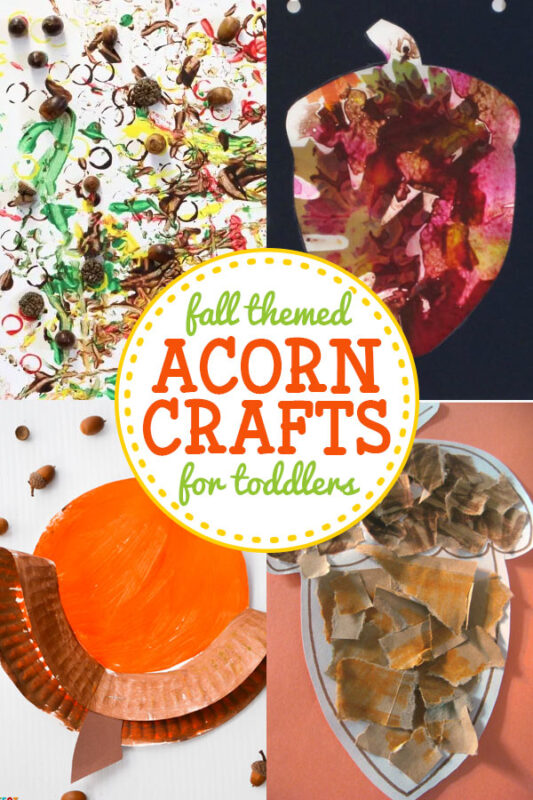 Acorn Crafts for Toddlers