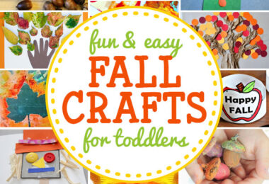 Let's celebrate fall with these fantastic fall crafts for toddlers.These autumn crafts for toddlers and preschoolers are a great way to teach children about the change in seasons, and all the fun that comes with fall. We have lots of fun fall projects for toddlers featuring apples, leaves, pumpkins, scarecrows, acorns, and more! These are such easy fall craft ideas for young children!