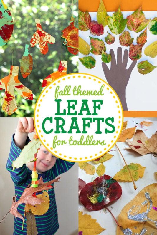 Leaf Crafts for Toddlers