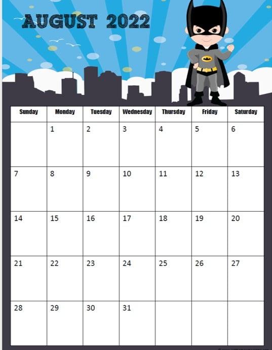 2021-2022 Free Calendar