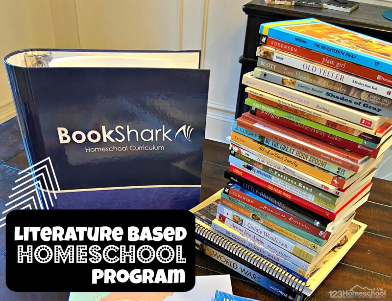 literature based homeschool program that is a convenient curriculum in a box