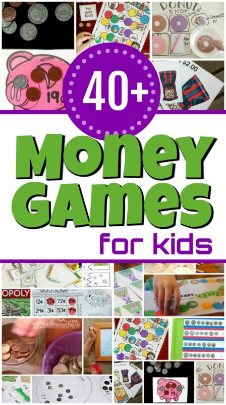 There are so many fun ways to introduce and teach children about money. Here are lots of Fun Money Math Games and money math activities to help kids learn about American money, counting coins, coin differentiation, and more money math skills. These math money games are a funmath activity for preschool, pre k, kindergarten, first grade, and 2nd grade students. No matter whichfun money games you use, these engaging projects are sure to make learning fun!