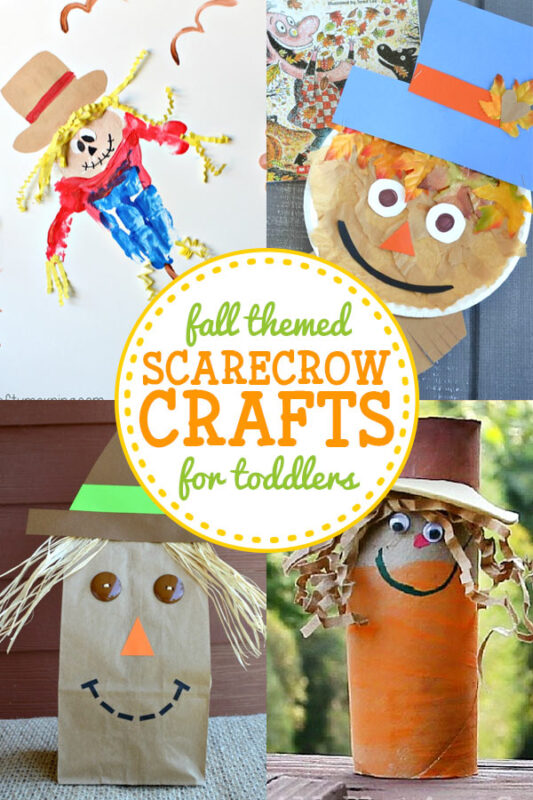 Scarecrow Crafts for Toddlers