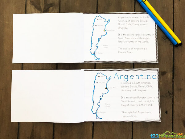 free Argentina Printables
