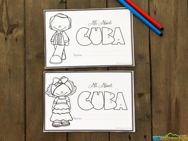 free Cuba Printables