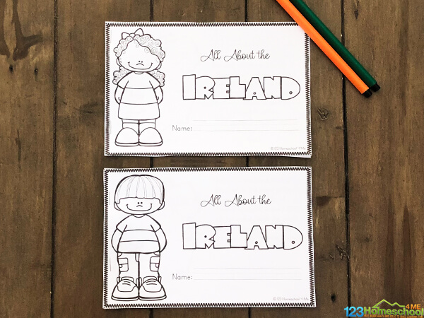 free Ireland Printables