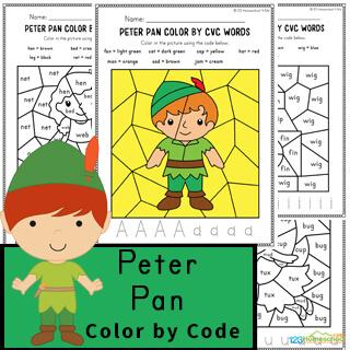 free Peter Pan Worksheets
