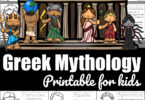 Greek Mythology Printable for Kids