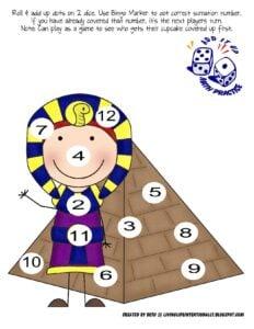 ancient egypt worksheets kindergarten