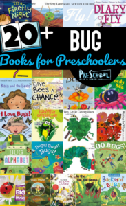 bug books for preschoolers