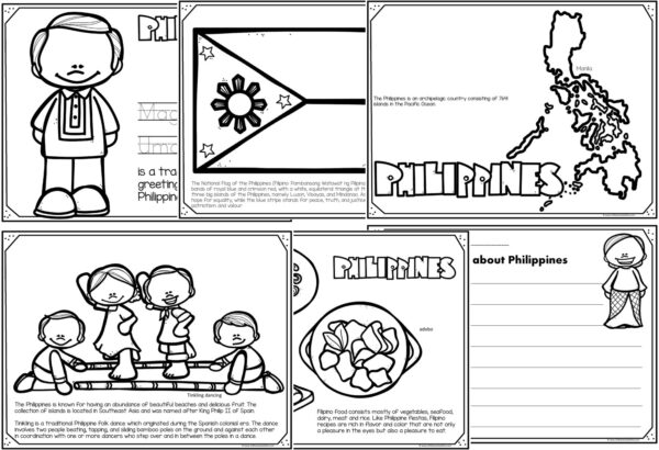 philippines coloring pages