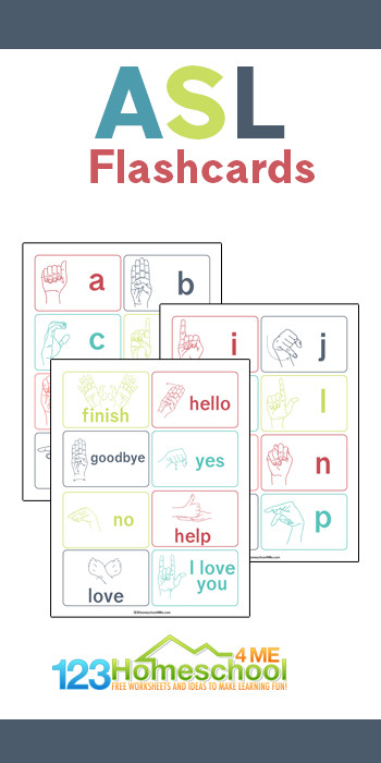Help learn and review sign language with these super cute, free printablesign language flash cards. TheseASL Flashcardsare handy for kids of all ages from toddler, preschool, pre-k, kindergarten, first grade, 2nd grade, 3rd grade, and 4th grade students. Simply download pdf file with free printable flashcards and have fun practicing sigh language.