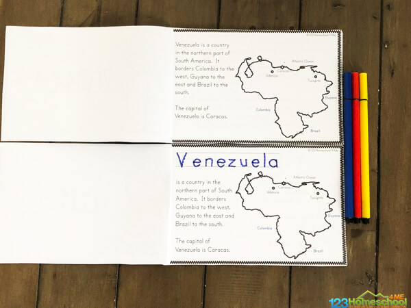 Facts about Venezuela for kids