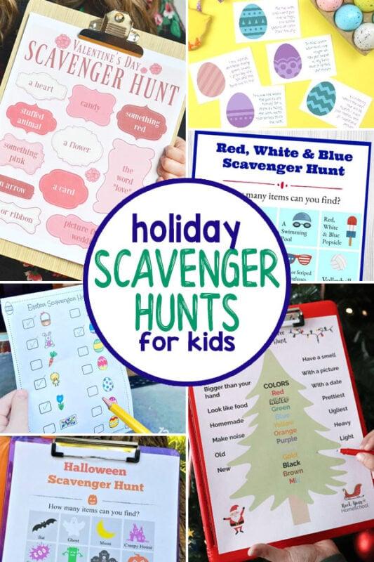 Holiday Scavenger Hunts for Kids