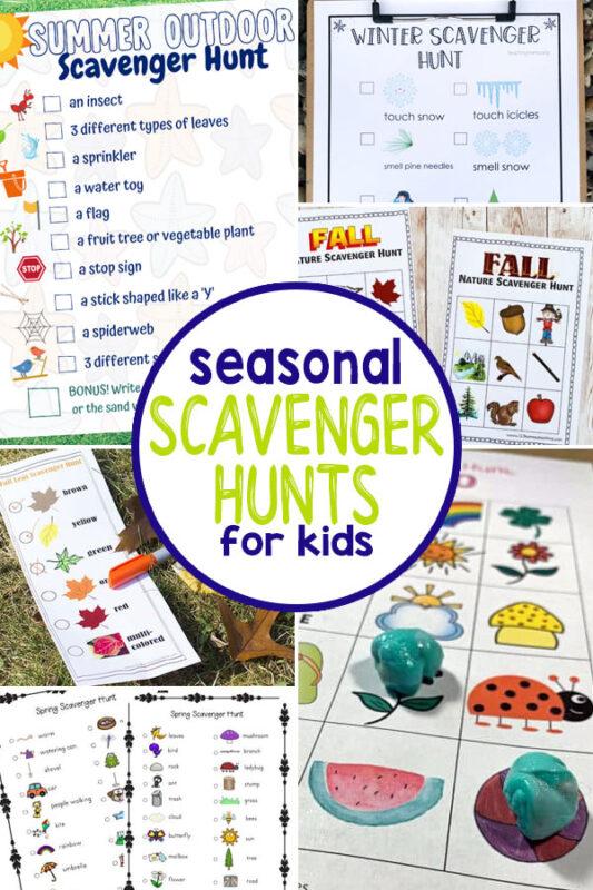 Seasonal Scavenger Hunts