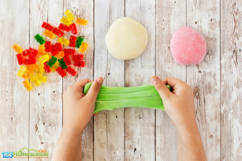 How to make edible slime with gummy bears