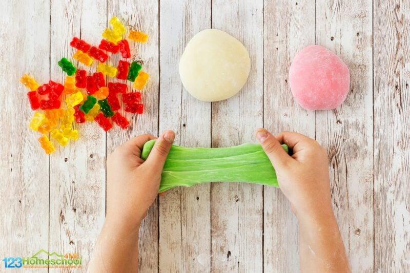 How to make edible slime with gummy bears