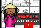 Free Vietnam For Kids for printable mini book to help elementary age kids learn about this country in Asia. Simply read, color, and learn about Vietnam as you learn about countries from around the world.