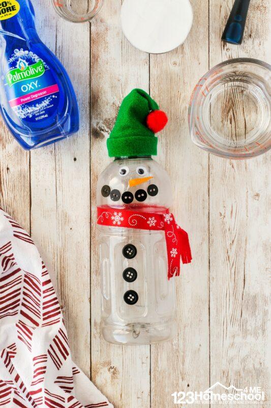super cute Make a snowman project