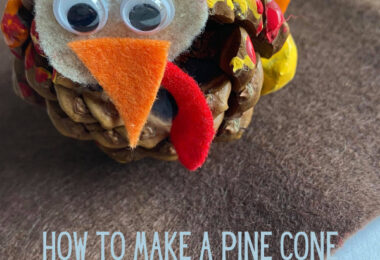 You will love making an adorable Pine Cone Turkey to decorate your home in the fall. ThisThanksgiving craft forkids is perfect for toddler, preschool, pre-k, kindergarten, and first grade students. Thispinecone turkey craft only uses a few simple materials you probably already have on hand to make your November crafts for kids! You will probably want to make a whole flock of turkey crafts.