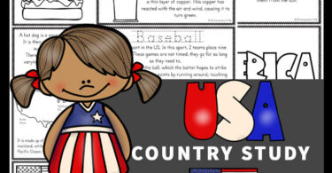 Kids will love learning about the USA for Kids with these free printable United States of America for Kids Books to color, read, and learn! We've included lots of interesting facts and information,american flag printable, map with major cities, common foods, bald eagle, famous landmarks such as the Statue of Liberty, and so much more! Download pdf file withUnited States of for kidsprintable book and get ready to have fun learning!